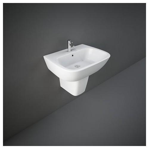 Rak Ceramics Waschbecken - Bidets Halbsockel Rak-One 460 X 600 Mm ONWB00002