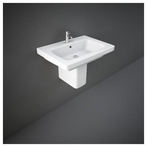 Rak Ceramics Waschbecken - Bidets Halbsockel Rak-Resort 460 X 650 Mm REPD00002