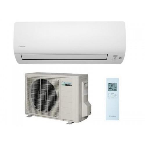 Daikin Klimaanlagen Mono Split R410A 9000 BTU FTXS25K+RXS25L weiß 2,5 KW serie FTXS-K inverter Wärmepumpe FTXS25K+RXS25L