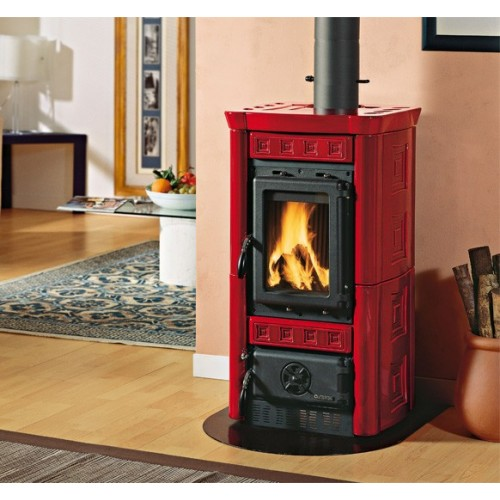 Holzöfen LA NORDICA GAIA 6 kW mit Keramikverkleidung