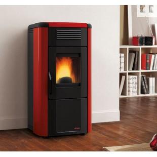La Nordica Extraflame Pelletsöfen VIVIANA EVO 10.3 kW Belüfteter mit lackierter Stahlverkleidung und Keramiktop 1275103