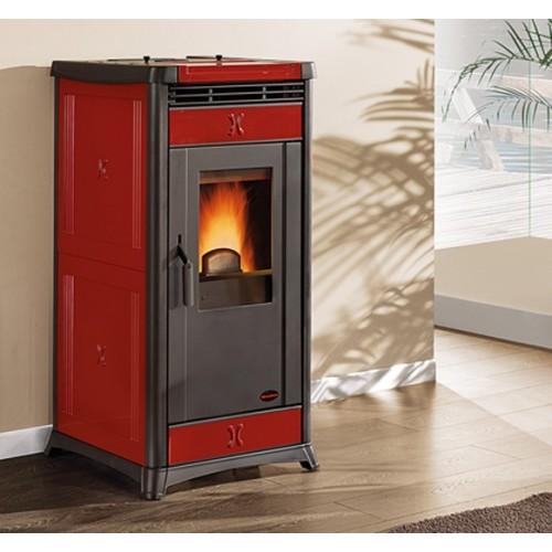 La Nordica Extraflame Pelletsöfen Extraflame La Nordica IRMA 10.3 kW Belüfteter mit Keramik oder Natursteinverkleidung 1279200