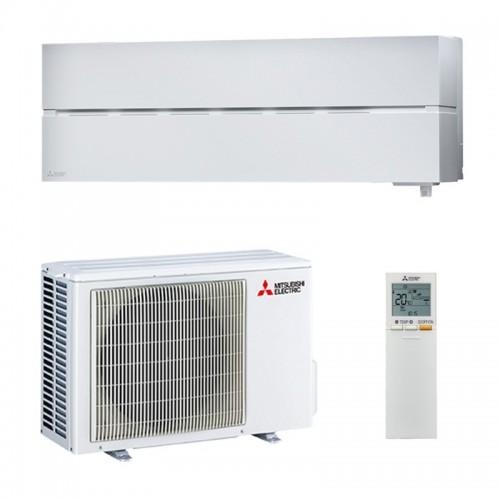 Mitsubishi Electric Klimaanlagen Mono Split R32 9000 BTU Serie Kirigamine Style MSZ-LN25VGW+MUZ-LN25VG weiss 2,5 KW Wärmepump...