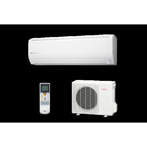 Fujitsu General Klimaanlagen Fujitsu R410A Serie LFCC 24000 BTU ASYG24LFCC+AOYG24LF 7,1 KW inverter Wärmepumpe ASYG24LFCC+AOY...