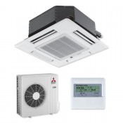 Mitsubishi SLZ-KA50VAL 4 Wege Deckenkassette Klimageräte Set