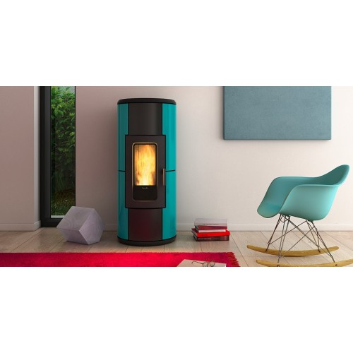 Pelletsöfen Ravelli R-EVOLUTION 11 kW