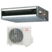 Gewerbeklimaanlagen Fujitsu 18000 BTU Kanaleinbaugeräte ARYG18LLTB 5.0 KW inverter Wärmepumpen