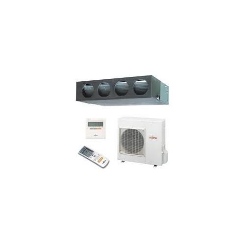 Fujitsu General Gewerbeklimaanlagen Fujitsu 45000 BTU Kanaleinbaugeräte ARYG45LML 3PH dreiphasigen 14.0 KW inverter Wärmepump...