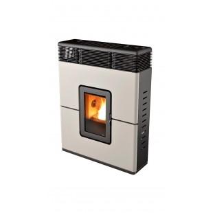 MCZ Pelletsöfen PHILO Comfort Air 9 kW Farbe Weiß, schwarz, aluminium, burgund, bronze 7118005