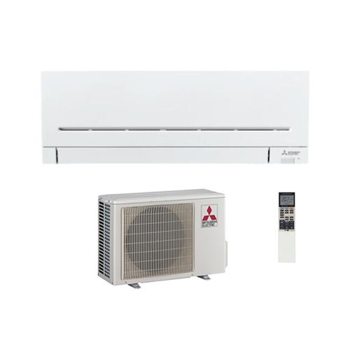 Mitsubishi Electric Klimaanlagen Mono Split R32 9000 BTU Serie Plus MSZ-AP25VG+MUZ-AP25VG weiss 2,5 KW inverter Wärmepumpe