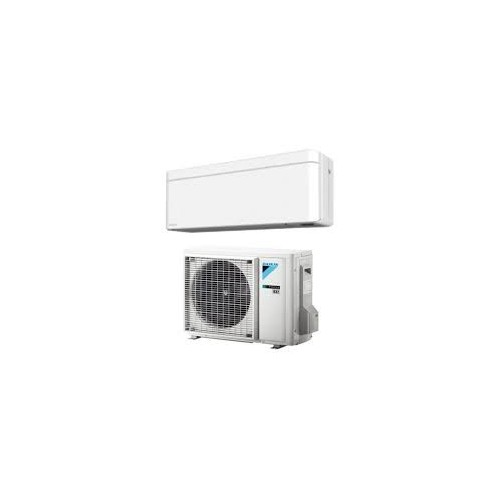 Daikin Klimaanlagen Mono Split R32 12000 BTU FTXA35AW+RXA35A weiß 3,5 KW serie Stylish FTXA-AW mit WiFi inverter Wärmepumpe