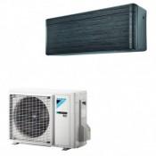 Klimageräte Mono Split Daikin R32 12000 BTU FTXA35AT+RXA35A Schwarzes 3,5 KW serie Stylish FTXA-AT mit WiFi inverter Wärmepumpe