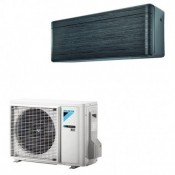 Klimageräte Mono Split Daikin R32 18000 BTU FTXA50AT+RXA50A Schwarzes 5 KW serie Stylish FTXA-AT mit WiFi inverter Wärmepumpe