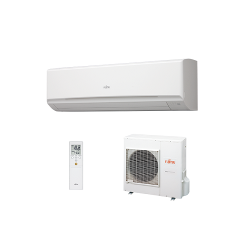 Fujitsu General Klimaanlagen Fujitsu R410A Serie LMTA 36000 BTU ASYG36LMTA+AOYG36LM 10,5 KW inverter Wärmepumpe ASYG36LMTA+AO...