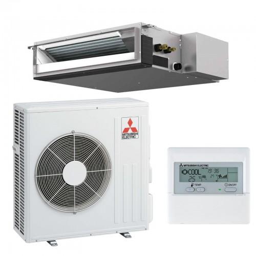 Mitsubishi Electric Klimaanlagen Mono Split R410A 18000 BTU Serie SEZ-KD50VAL+SUZ-KD50VA 5,0 KW inverter Wärmepumpe SEZ-KD50V...