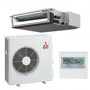 Mitsubishi Electric Klimaanlagen Mono Split R410A 21000 BTU Serie SEZ-KD60VAL+SUZ-KD60VA 6,0 KW inverter Wärmepumpe SEZ-KD60V...