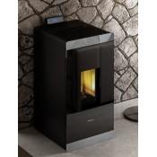 Pellet-Ofen mit Verkleidung aus Glas GLASS 8,7 KW