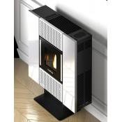 Pellet-Ofen mit Verkleidung aus farbigem Stahl SQUARE 6,5 KW