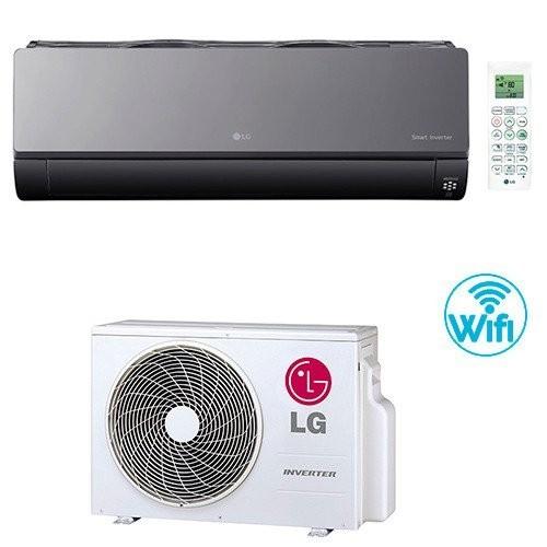 LG Klimaanlagen Mono Split Serie ArtCool Inverter 12000 BTU AC12BQ 3,5 KW Wärmepumpe