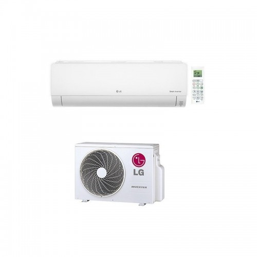 LG DELUXE INVERTER 3,5 KW DC12RQ WANDKLIMAGERÄTE SET
