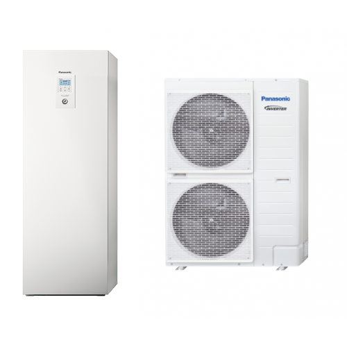 PANASONIC AQUAREA ALL IN ONE T-CAP SUPER QUIET KIT-AQC9HE8 9 KW 380V / 3 PH