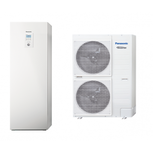Panasonic Wärmepumpe Acquarea Luft-Wasser ALL IN ONE T-CAP SUPER QUIET KIT-AQC16HE8 16 KW 380V / 3 PH sehr niedrige Temperatu...