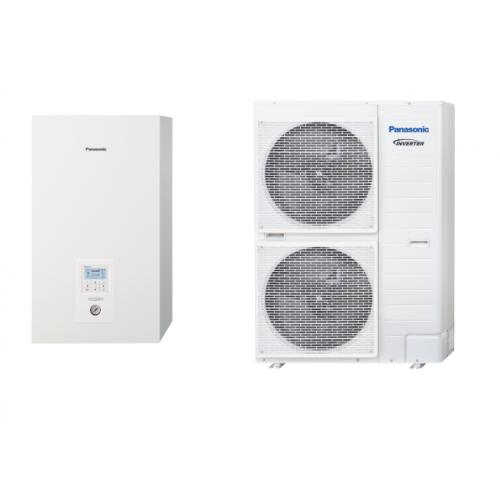Panasonic Wärmepumpe Acquarea Luft-Wasser T-CAP KIT-WXC09H3E8 9 KW 380V / 3 PH sehr niedrige Temperaturen KIT-WXC09H3E8