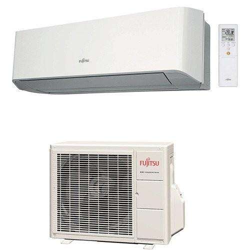 Klimageräte Fujitsu R410A Serie LMCE 15000 BTU ASYG14LMCE+AOYG14LMCE 4,2 KW inverter Wärmepumpe