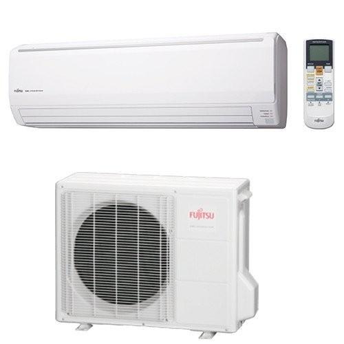 Klimageräte Fujitsu R410A Serie LFCA 30000 BTU ASYG30LFCA+AOYG30LF 8,8 KW inverter Wärmepumpe