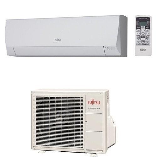 Klimageräte Fujitsu R410A Serie LLCE 9000 BTU ASYG09LLCE+AOYG09LLCE 2,5 KW inverter Wärmepumpe