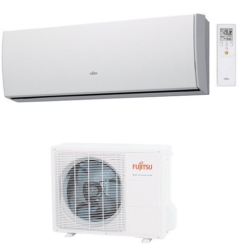 Fujitsu General Klimaanlagen Fujitsu R410A Serie LUCA 9000 BTU ASYG09LUCA+AOYG09LUC 2,5 KW inverter Wärmepumpe ASYG09LUCA+AOY...
