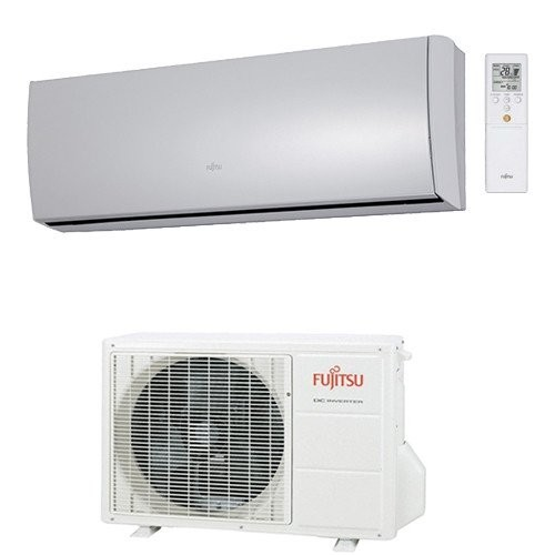 Fujitsu General Klimaanlagen Fujitsu R410A Serie Slide LT 9000 BTU ASYG09LTCA+AOYG09LT 2,5 KW inverter Wärmepumpe ASYG09LTCA+...