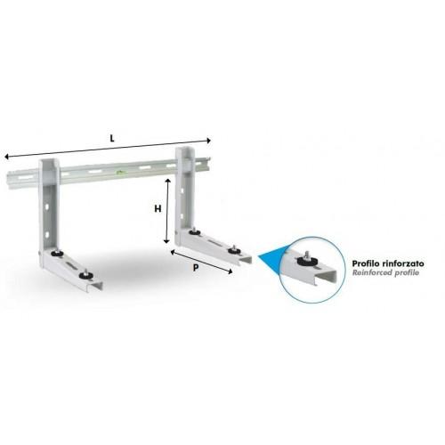 Produkte ausgewählt von Condizionati Konsolenset für Außengerät bis 100kg schallgedämmt Klimaanlagen Mono Split 9793-480-151