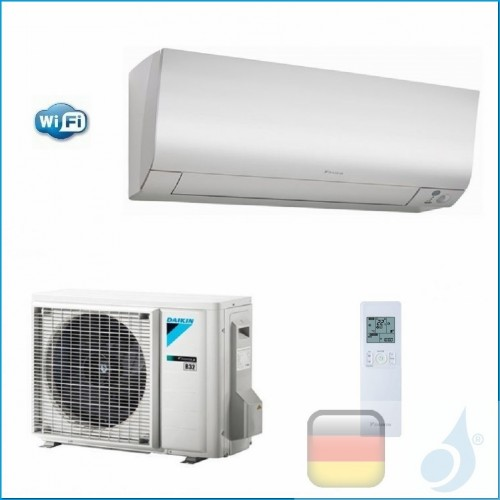 Daikin Klimaanlagen Mono Split Wand Gas R-32 Serie Perfera FTXM-N 9000 Btu WiFi FTXM25N RXM25M A+++/A+++ FTXM25N+RXM25N