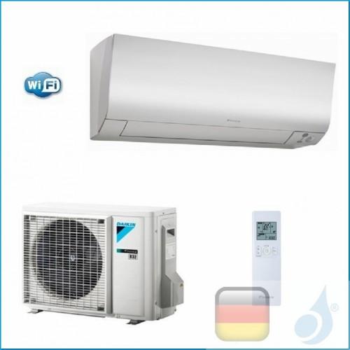 Daikin Klimaanlagen Mono Split Wand Gas R-32 Serie Perfera FTXM-N 15000 Btu WiFi FTXM42N RXM42M A++/A++ FTXM42N+RXM42N