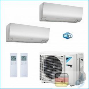 Daikin Klimaanlagen Duo Split R-32 Perfera FTXM-N 12000+18000 Btu WiFi FTXM35N +FTXM50N +2MXM50M9 A+++/A++ FTXM35N+FTXM50N+2M...