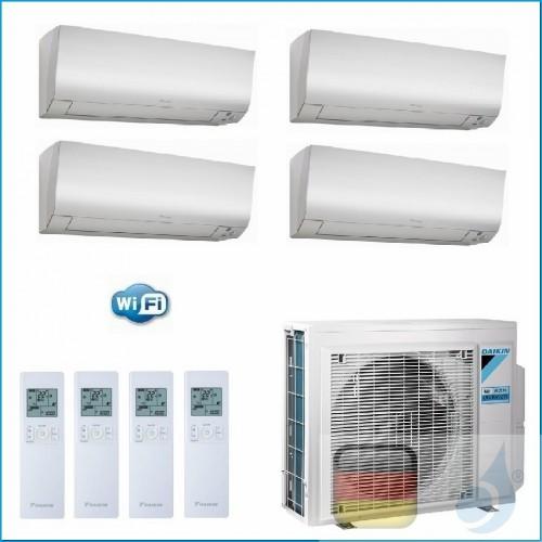 Daikin Klimaanlagen Quadri Split R-32 Perfera FTXM-N 5+5+9+9 WiFi CTXM15N CTXM15N FTXM25N FTXM25N 4MXM80N A++/A++ 2xCTXM15N+2...
