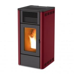 MCZ Pelletsöfen GIO Air 8 kW Farbe schwarz, grau, rot, silber, weiß 7116028