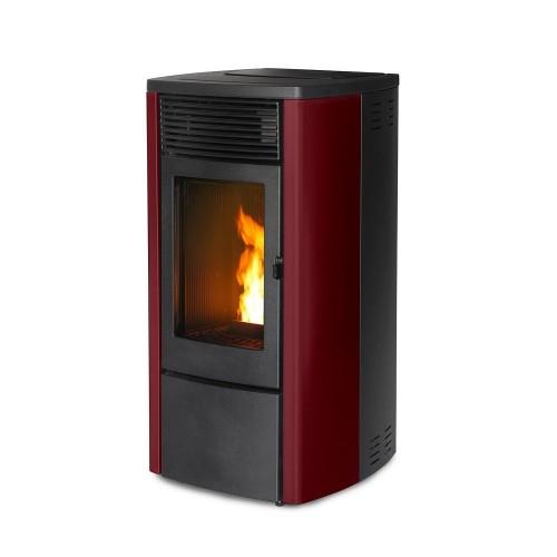MCZ Pelletsöfen EGO Air Maestro 8 kW Farbe schwarz, grau, rot, silber, edelstahl, weiß 7116036M
