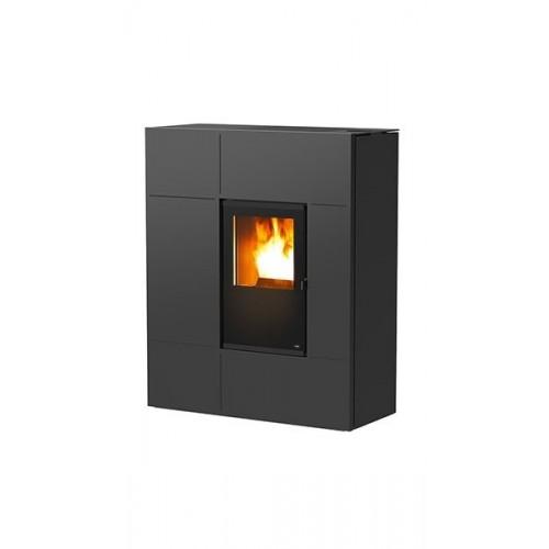 MCZ Pelletsöfen STREAM Comfort Air 12 kW Farbe schwarz, grau, rot, weiß 7115012