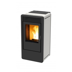 MCZ Pelletsöfen KAIKA Air OYSTER 5.4 kW Farbe schwarz, grau, rot, silber, weiß 7110008
