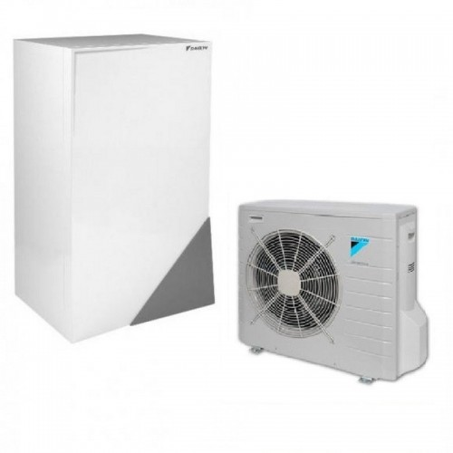 Wärmepumpe Daikin Altherma Luft-Wasser ERLQ008CV3 + EHBX08CB3V 8.0 kW 230V