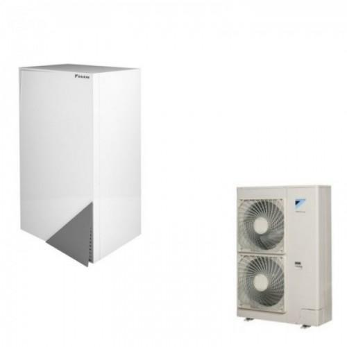 Wärmepumpe Daikin Altherma Luft-Wasser ERLQ016CV3 + EHBX16CB3V 16.0 kW 230V