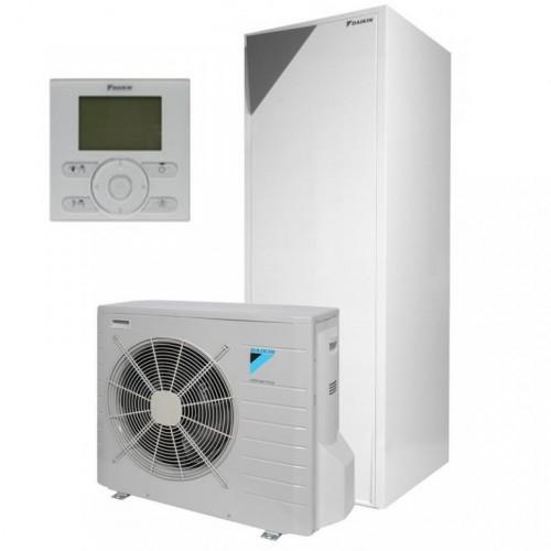 Wärmepumpe Daikin Altherma Luft-Wasser ERLQ008CV3 + EHVX08S18CB3V 8.0 kW 230V