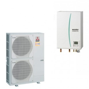 Mitsubishi Electric Wärmepumpe Ecodan Luft-Wasser PUHZ-SW100VHA + EHSC-VM2C 10.0 kW SW100VHAVM2C