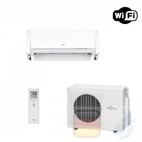 Fujitsu Klimaanlagen Mono Split Wand Nocria X 9000 Btu 2.5 kW Weiß WiFi ASYG09KXCA AOYG09KXCA A+++ A+++ 3NGF8990 R-32 ASYG09K...