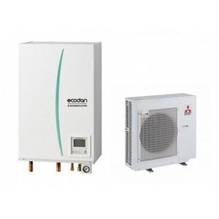 Mitsubishi Electric Wärmepumpe Ecodan Luft-Wasser PUHZ-SW75VHA + EHSC-VM2C 7.5 kW SW75VHAVM2C