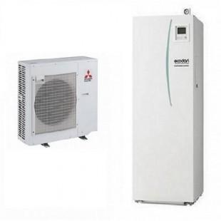 Mitsubishi Electric Wärmepumpe Ecodan Luft-Wasser PUHZ-SW75VHA + ERST20C-VM2C 7.5 kW SW75VHAVM2C