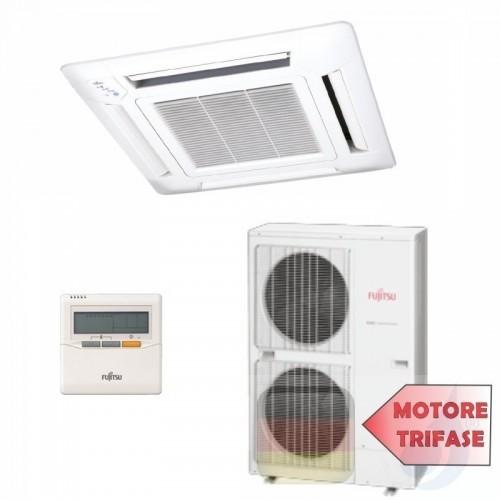 Fujitsu Gewerbeklimaanlagen Mono Split Kassettengerät Serie LR Inverter 45000 Btu AUYG45LRLA AOYG45LATT 3NGF6440 R-410A 380v ...