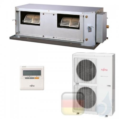 Fujitsu Gewerbeklimaanlagen Kanaleinbaugeräte LHT Mittlere Prävalenz Kompakt 54000 Btu ARYG54LHTBP AOYG54LBTA 3NGF8985 R-410A...